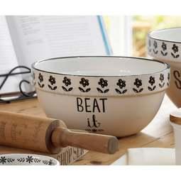 View the Creative Tops STIR IT UP medium ceramic mixing bowl online at Cake Stuff