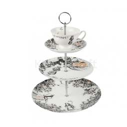 View the V&A ALICE IN WONDERLAND 3 tier porcelain cake stand online at Cake Stuff