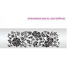 View the Embroidered Lace professional cake stencil set #7SH by Julie Deffense online at Cake Stuff