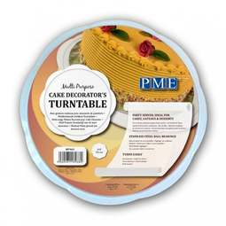 "View the 11"" multi purpose cake decorator's turntable online at Cake Stuff"