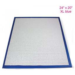 """View the 24"""" x 20"""" XL BLUE non-stick modelling work board online at Cake Stuff"""