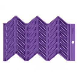 View the Precision Patterns HERRINGBONE silicone sugarcraft fondant icing mould online at Cake Stuff