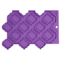 View the Precision Patterns TRELLIS silicone sugarcraft fondant icing mould online at Cake Stuff