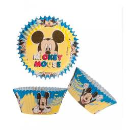 View the MICKEY MOUSE cupcake baking cases pk 50 online at Cake Stuff