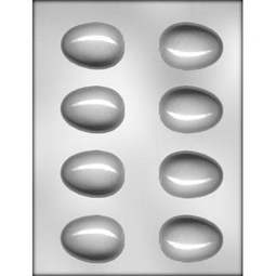 View the 2½ inch / 60mm Egg Mould Flower Formers - 8 cavity former online at Cake Stuff