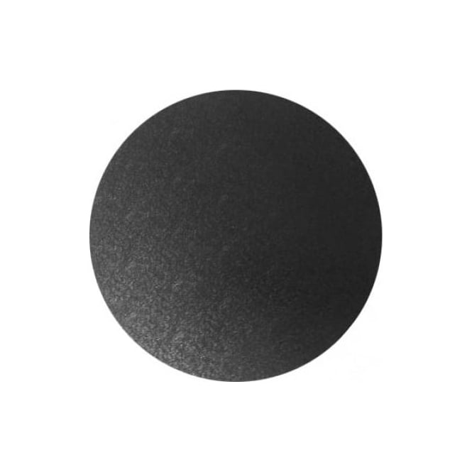 "View the 10"" BLACK round thick cake board / drum online at Cake Stuff"