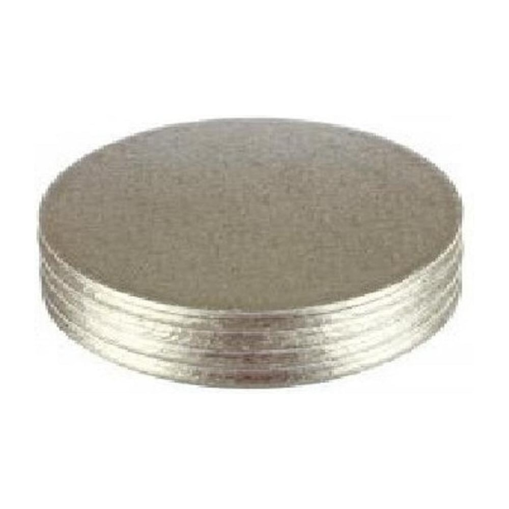 "View the 10"" x 8"" (5 pack) oval cake boards / drums online at Cake Stuff"