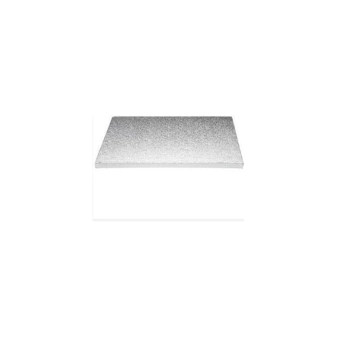 "View the 12"" x 10"" oblong thick cake board / drum online at Cake Stuff"