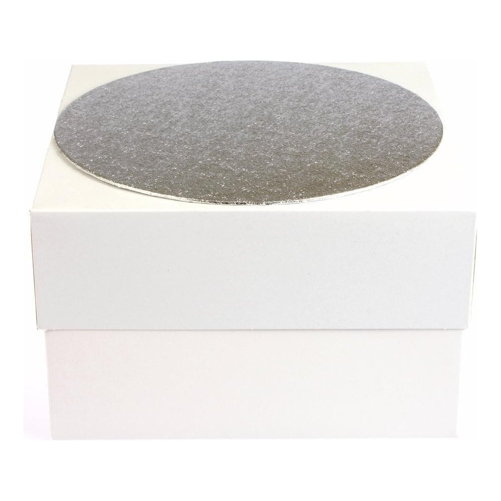 "View the 14"" round single thick cake card & box ***COMBO*** online at Cake Stuff"