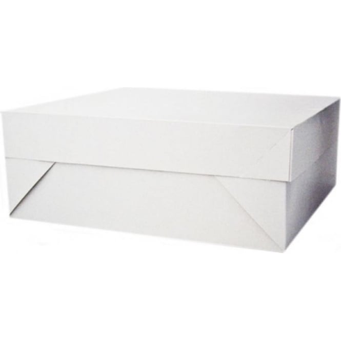 "View the 16"" x 12"" BULK pack 50 oblong cake transportation boxes & lids online at Cake Stuff"