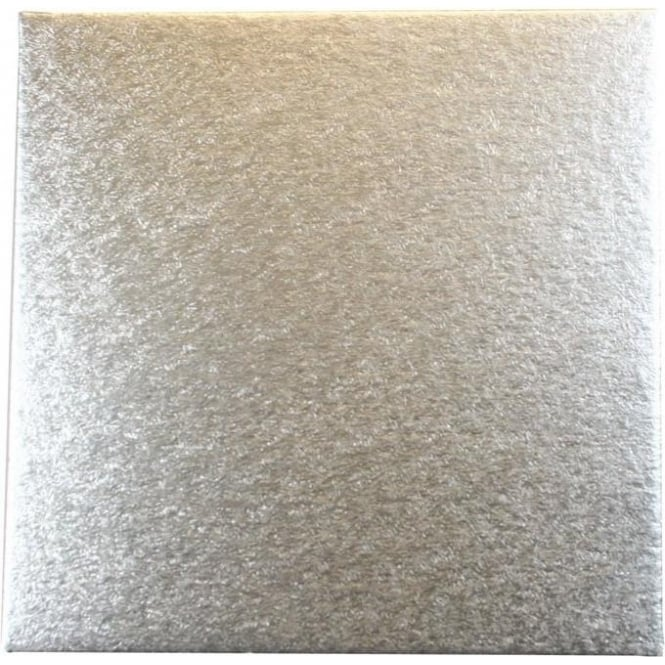 """View the 4"""" square (25 pack) cut edge SINGLE THICK cake cards online at Cake Stuff"""
