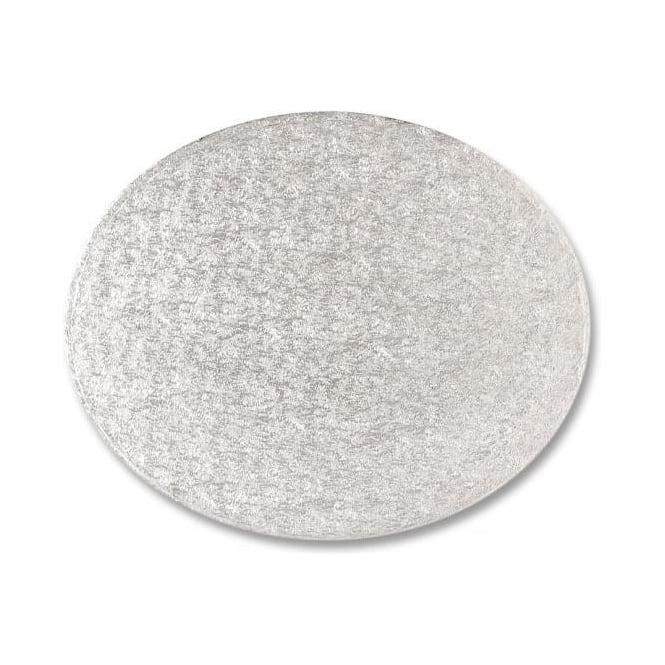 "View the 8"" x 6"" oval cake board / drum online at Cake Stuff"