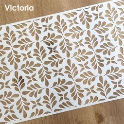 View the VICTORIA professional designer cake icing stencil online at Cake Stuff