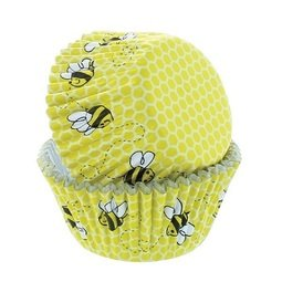 View the HONEYCOMB cupcake baking cases - pk 50 online at Cake Stuff