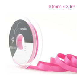 View the FUCHSIA 10mm x 20m double face satin cake ribbon online at Cake Stuff
