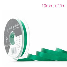 View the HUNTER GREEN 10mm x 20m double face satin cake ribbon online at Cake Stuff