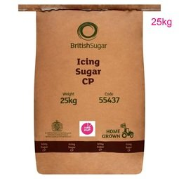 View the super fine Icing Sugar 25kg - made in the UK online at Cake Stuff