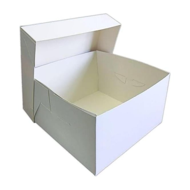 "View the BULK PACK 50 x 7"" / 178mm cake transportation boxes & lids online at Cake Stuff"