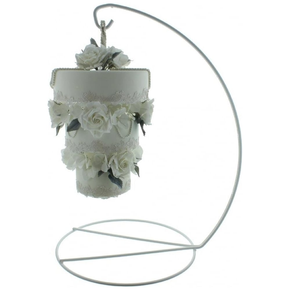 View the Hanging Cake Stand - metal display system online at Cake Stuff