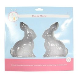 View the BUNNY chocolate & icing sugarcraft mould online at Cake Stuff
