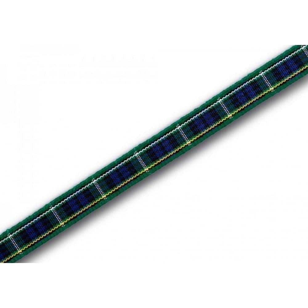 View the Campbell 7mm Scottish tartan plaid ribbon x 25m reel online at Cake Stuff
