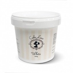 View the 500g Cake Lace powder - original white online at Cake Stuff