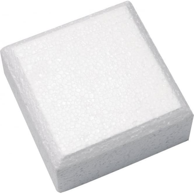 "View the **CLEARANCE** 11"" square cake dummy - straight & chamfered edge - 3"" deep online at Cake Stuff"