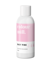 View the BABY PINK oil based concentrated icing colouring 100ml online at Cake Stuff