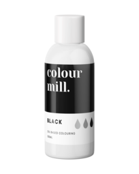 View the BLACK oil based concentrated icing colouring 100ml online at Cake Stuff