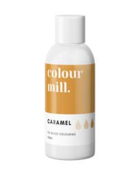 View the CARAMEL BROWN oil based concentrated icing colouring 100ml online at Cake Stuff