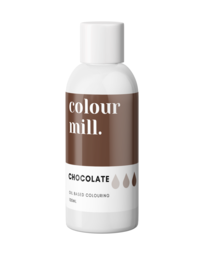 View the CHOCOLATE BROWN oil based concentrated icing colouring 100ml online at Cake Stuff