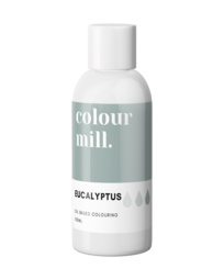 View the EUCALYPTUS oil based concentrated icing colouring 100ml online at Cake Stuff
