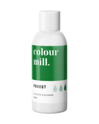 View the FOREST GREEN oil based concentrated icing colouring 100ml online at Cake Stuff