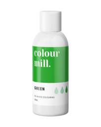 View the GREEN oil based concentrated icing colouring 100ml online at Cake Stuff