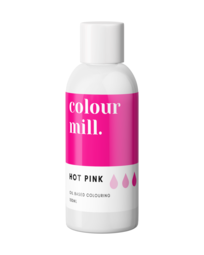View the HOT PINK oil based concentrated icing colouring 100ml online at Cake Stuff