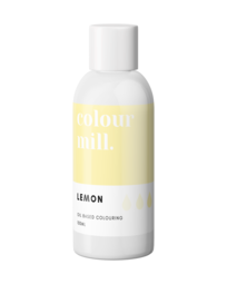View the LEMON oil based concentrated icing colouring 100ml online at Cake Stuff