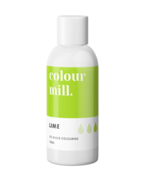 View the LIME GREEN oil based concentrated icing colouring 100ml online at Cake Stuff