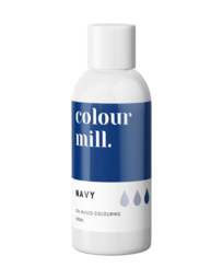 View the NAVY BLUE oil based concentrated icing colouring 100ml online at Cake Stuff