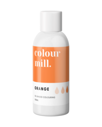 View the ORANGE oil based concentrated icing colouring 100ml online at Cake Stuff