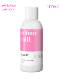 View the original CANDY PINK oil based concentrated exhibition icing colouring 100ml - non edible online at Cake Stuff