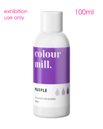 View the original PURPLE oil based concentrated exhibition icing colouring 100ml - non edible online at Cake Stuff