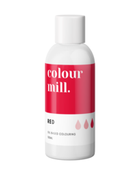 View the RED oil based concentrated icing colouring 100ml online at Cake Stuff
