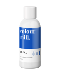 View the ROYAL BLUE oil based concentrated icing colouring 100ml online at Cake Stuff