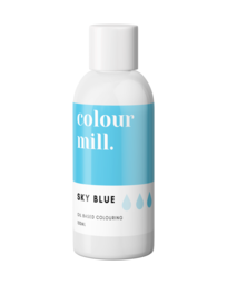 View the SKY BLUE oil based concentrated icing colouring 100ml online at Cake Stuff