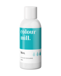 View the TEAL oil based concentrated icing colouring 100ml online at Cake Stuff