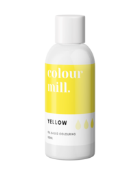 View the YELLOW oil based concentrated icing colouring 100ml online at Cake Stuff