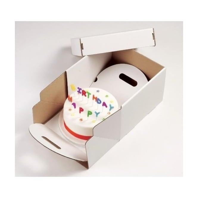 "View the 10"" heavy duty cake transportation box online at Cake Stuff"