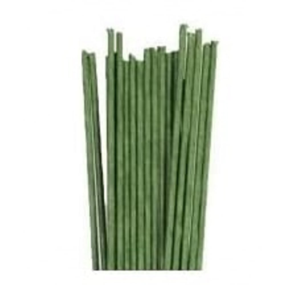View the 18 gauge DARK GREEN sugarcraft floristry wire - pk 20 online at Cake Stuff