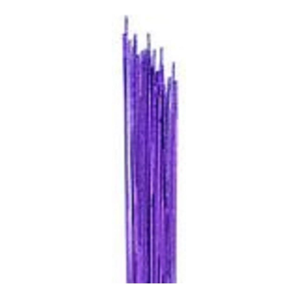 View the 24 gauge PURPLE metallic sugarcraft floristry wire - pk 50 online at Cake Stuff