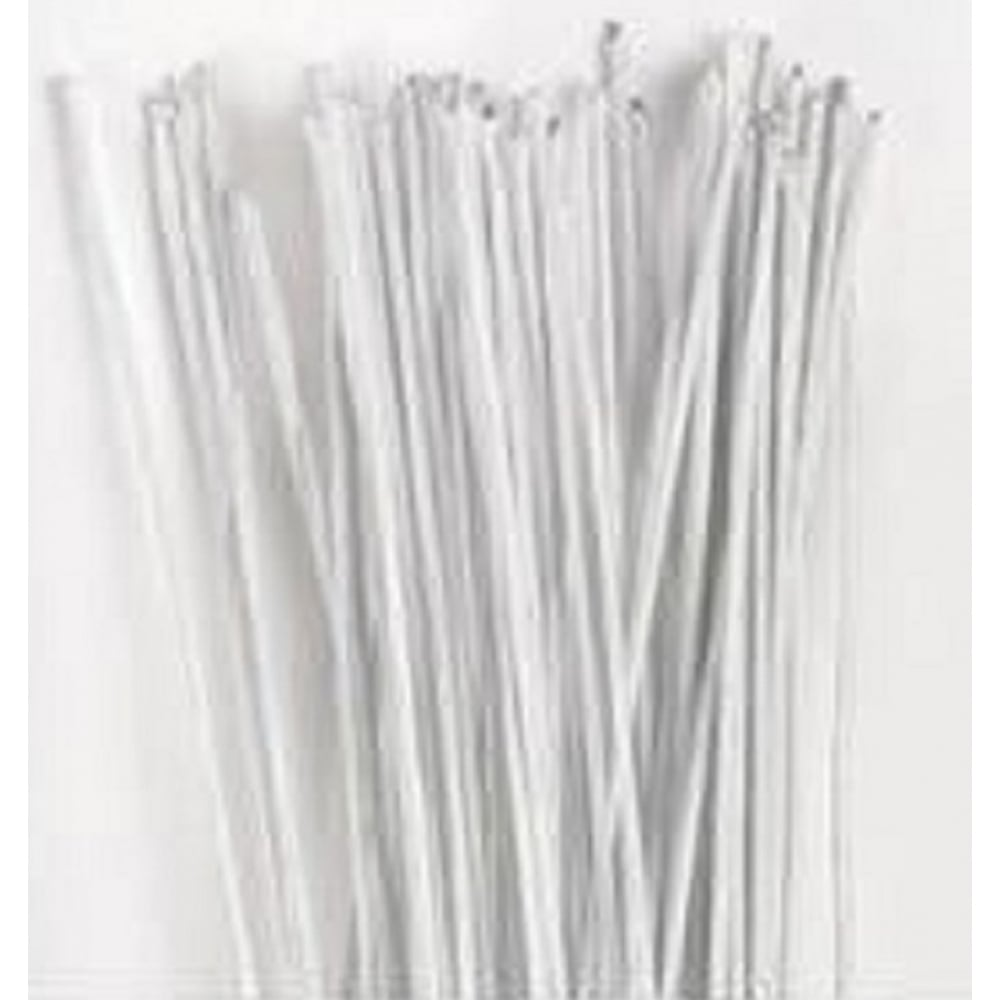 View the 26 gauge WHITE sugarcraft floristry wire - pk 50 online at Cake Stuff